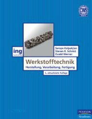 Werkstofftechnik - * ISBN 978-3-86894-006-0 ... - Pearson Studium