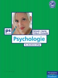 Psychologie Value Pack  - *ISBN ... - Pearson Studium