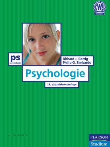 Psychologie Value Pack  - *ISBN ... - Pearson Studium