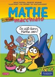 Mathe macchiato - *ISBN 978-3-86894-026-8 ... - Pearson Studium