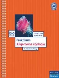 Praktikum - Allgemeine Zoologie - 15., akt. Aufl ... - Pearson Studium