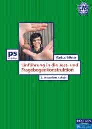 Einführung in die Test- und ... - Pearson Studium