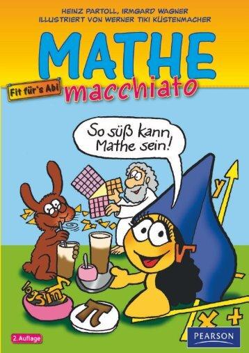 Mathe macchiato & Analysis Schuber ... - Pearson Studium