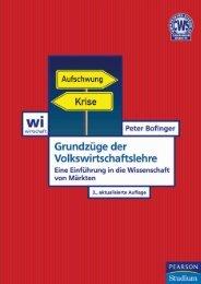 Grundzüge der Volkswirtschaftslehre - *ISBN 978 ... - Pearson Studium