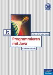 Programmieren mit Java  - *ISBN ... - Pearson Studium