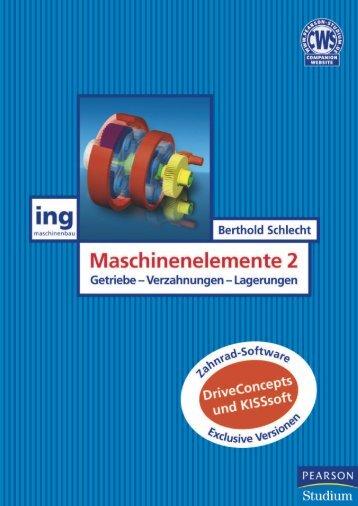 Maschinenelemente 2  - *ISBN 978 ... - Pearson Studium