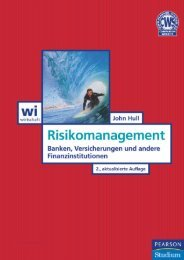 Risikomanagement - 2., aktualisierte Auflage ... - Pearson Studium
