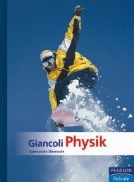 Giancoli Physik - Gymnasiale Oberstufe - 3. Auflage ...
