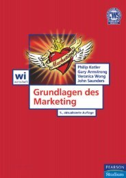 Grundlagen des Marketing 5. Auflage ... - Pearson Studium