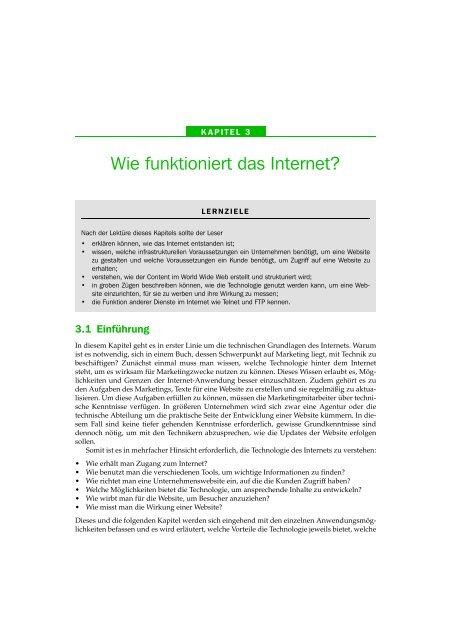Wie funktioniert das Internet? - Pearson Studium