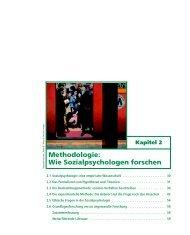 Sozialpsychologie - 4., aktualisierte Auflage ... - Pearson Studium