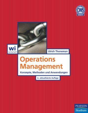 Operations Management 2. Auflage