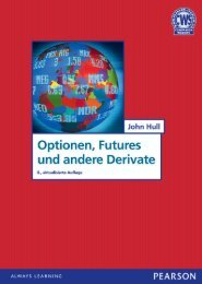 Optionen, Futures und andere Derivate - Pearson Studium