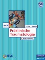 Präklinische Traumatologie - 6., aktualisierte ... - Pearson Studium
