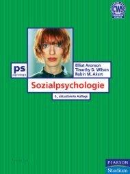 Sozialpsychologie - 6., aktualisierte Auflage ... - Pearson Studium
