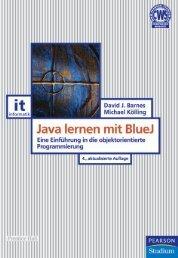 Java lernen mit BlueJ  - *ISBN 978-3-8689-4001-5 ...