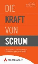 Die Kraft von Scrum  - *ISBN 978-3-8273-3052-9 ...