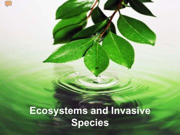 Invasive species - Pearson Canada