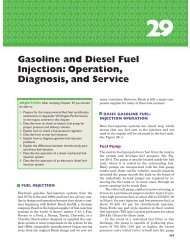 Gasoline and Diesel Fuel Injection: Operation ... - Pearson Canada