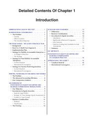 Detailed Contents Of Chapter 1 Introduction - Pearson Canada