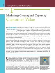Marketing: Creating and Capturing Customer Value - Pearson Canada