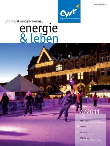 Ausgabe 4/2011 herunterladen - EWR GmbH