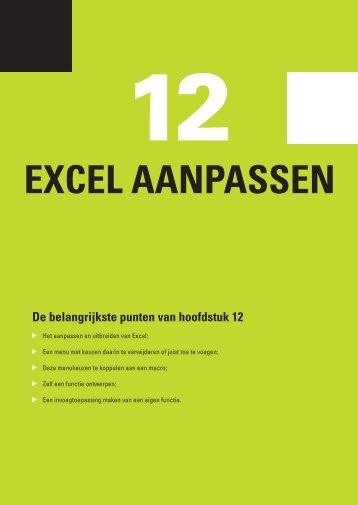 12 Excel aanpassen - Pearson Education