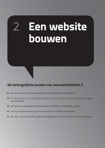 2 Een website bouwen - Pearson Education