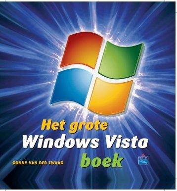 Het Grote Windows Vista-boek - Pearson Education