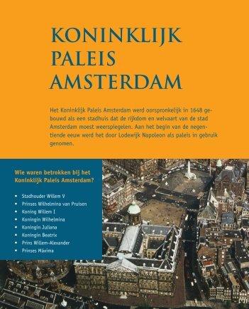 KONINKLIJK PALEIS AMSTERDAM - Pearson Education