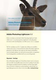Adobe Photoshop Lightroom 1.1 Adobe Photoshop Lightroom