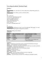 Uitwerkingen hoofdstuk 2 Basisboek Engels - Pearson Education