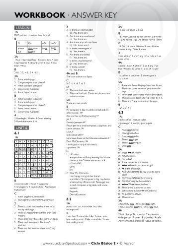 gateway b1 workbook answers