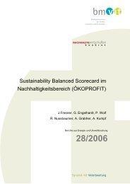 Sustainability Balanced Scorecard im ... - Fabrik der Zukunft