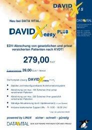 Edv-Abrechung von gesetzlichen und privat ... - Data Vital