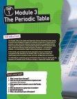Unit 1 Module 3 The Periodic Table - Pearson Schools - Page 7