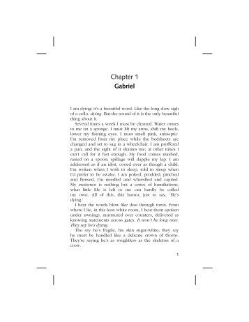Chapter 1 Gabriel - Pearson Schools