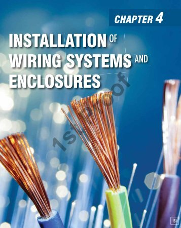 INSTALLATION WIRING SYSTEMS ENCLOSURES - Pearson Schools