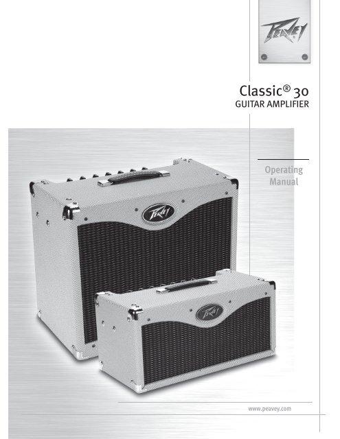 Classic® 30 - Peavey.com