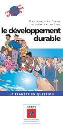 le développement durable - Nicolas VANIER