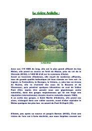 l'Ardèche - Pêche Nature Passion