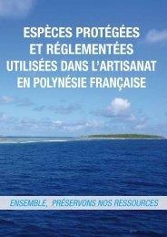 EspècEs protégéEs Et réglEmEntéEs UtIlIséEs ... - Site de la pêche