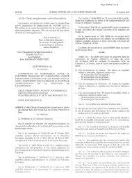 Arrêté n°1582 CM du 23 octobre 2012