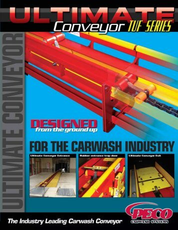 Ultimate Conveyor Small - PECO Car Wash Systems