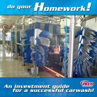 Investment Guide - PECO Car Wash Systems