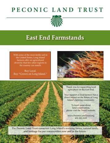 East End Farmstands - Peconic Land Trust - Conserving Long