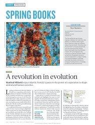 A revolution in evolution - Program for Evolutionary Dynamics