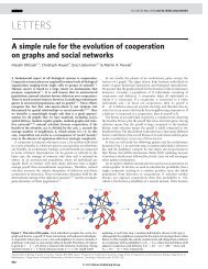A simple rule for the evolution of cooperation on graphs and social ...