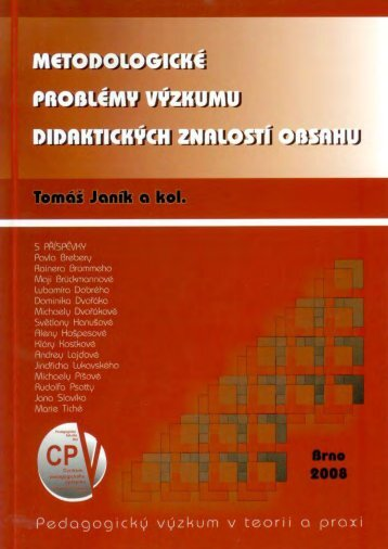 Plný text publikace - Pedagogická fakulta MU - Masarykova univerzita