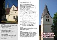 Informationsblatt - Evangelische Kirchengemeinde Heiningen